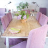 Mulberry Stonewash Kitchen Chairs