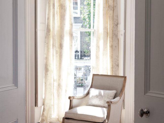 Charcoal-Stripe-Chair