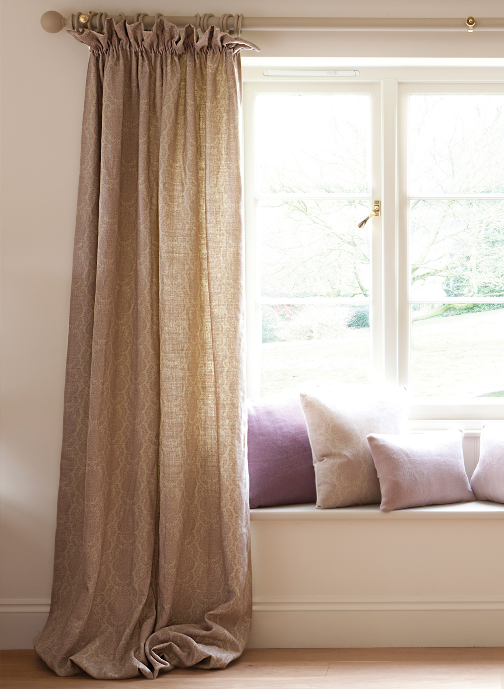 chenille eyelet mauve dunelm main lined product curtains
