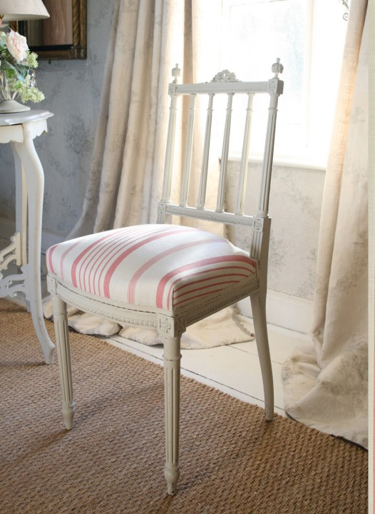 Pink-Ticking-Chair