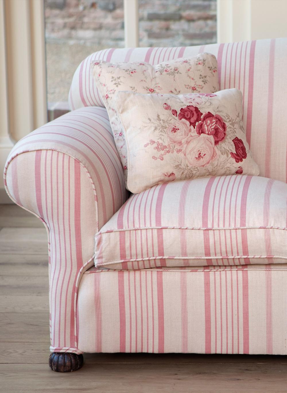 Pink Ticking Kate Forman