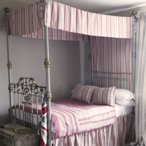 Red-Ticking-Bed
