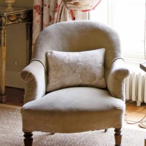 Sage-Velvet-Armchair