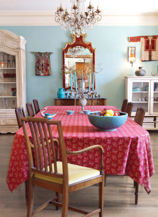 Thelma-Red-Tablecloth