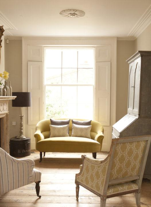 Yellow-Velvet-Sofa