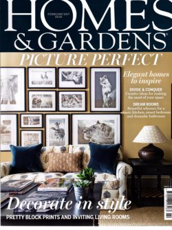 Homes & Gardens Feb Cover