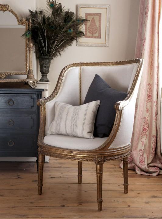 gilt-chair