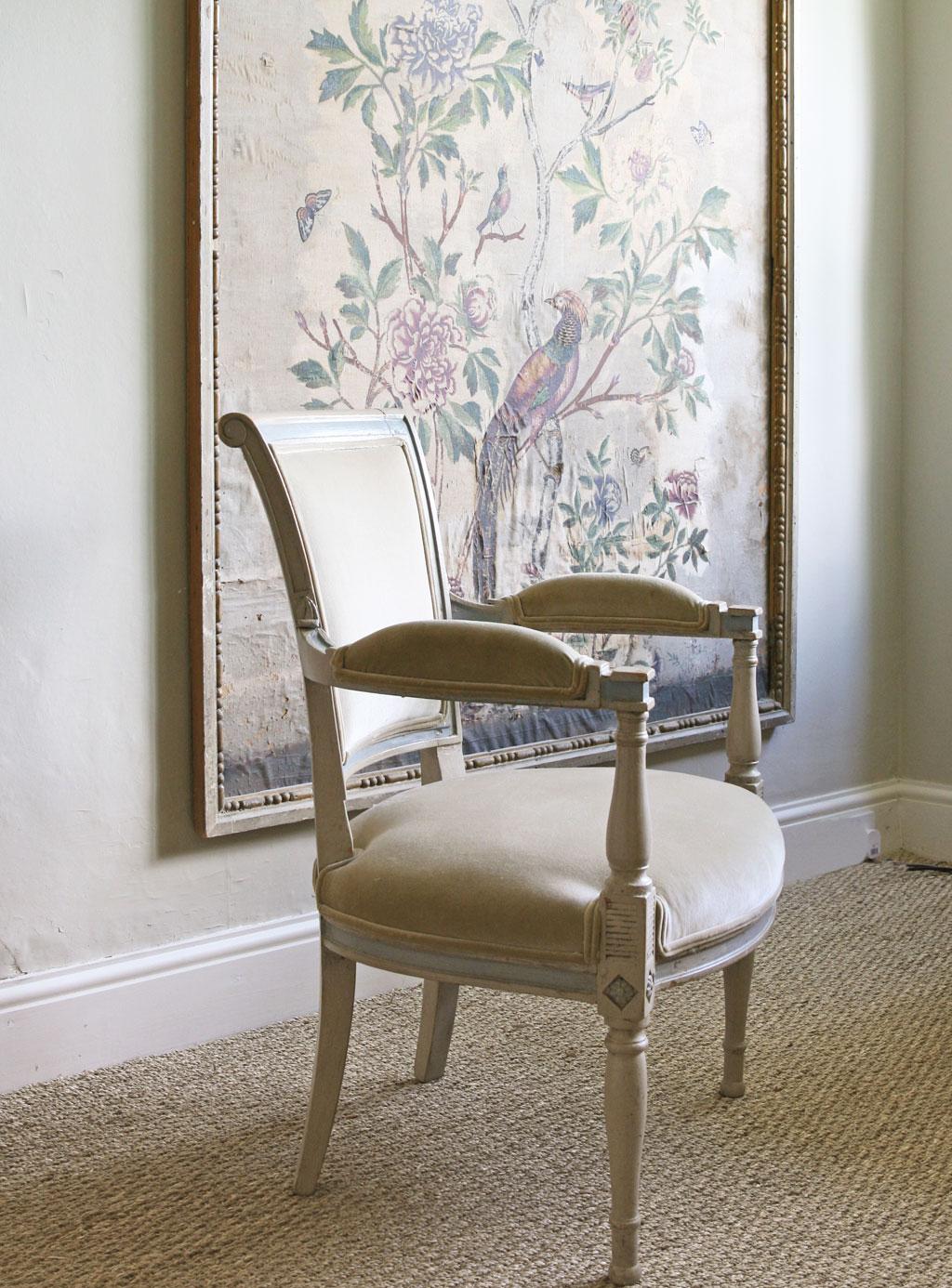 Velvet Sage Chair