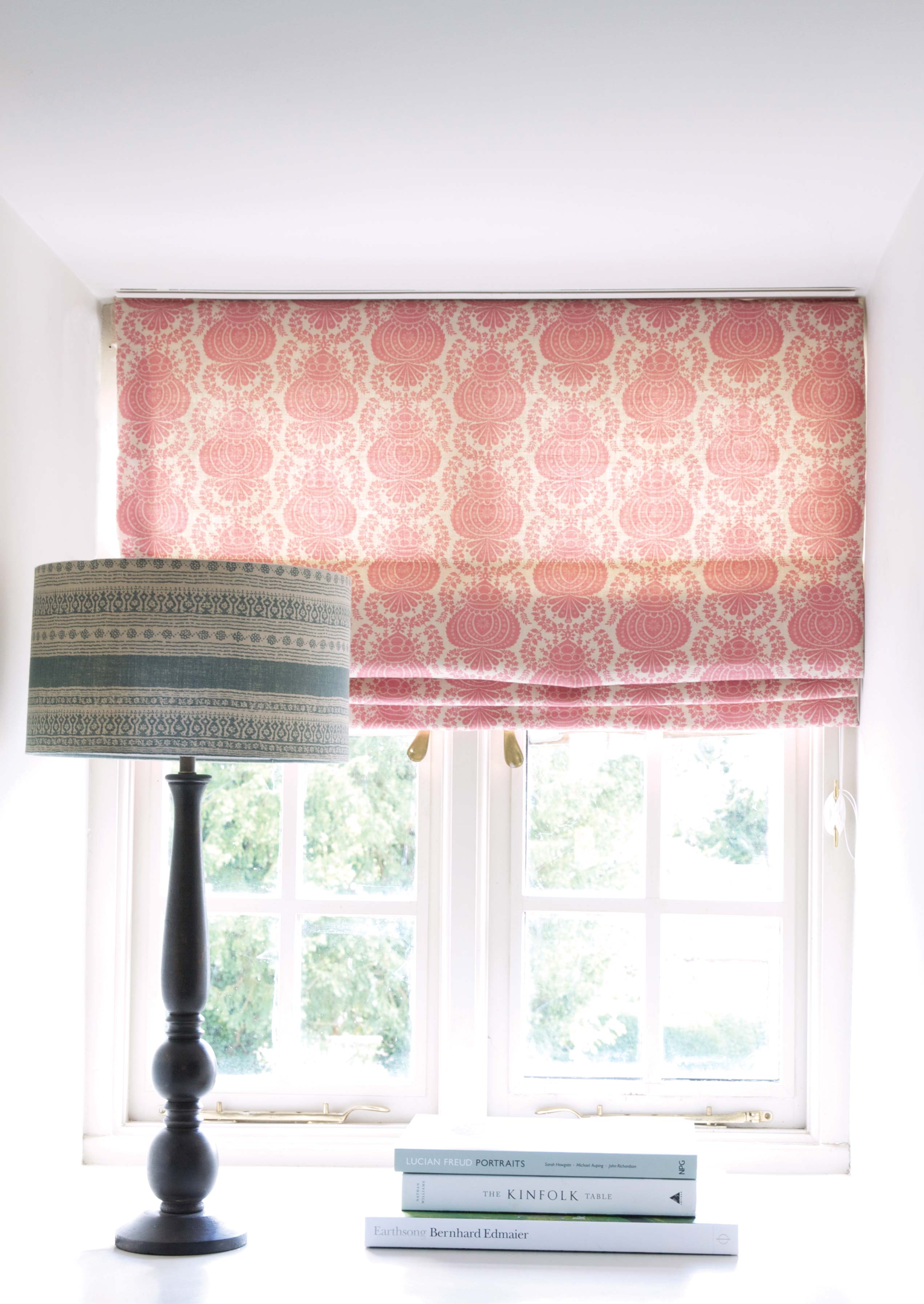 Teal-Anoushka-Shade-with-Margot-Pink-Blind