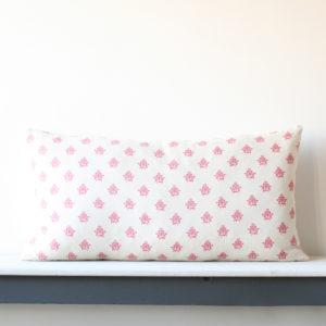 Large Oblong Linen Cushion