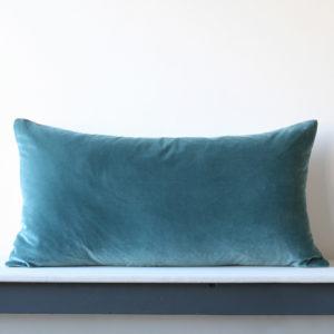Large Oblong Velvet Cushion