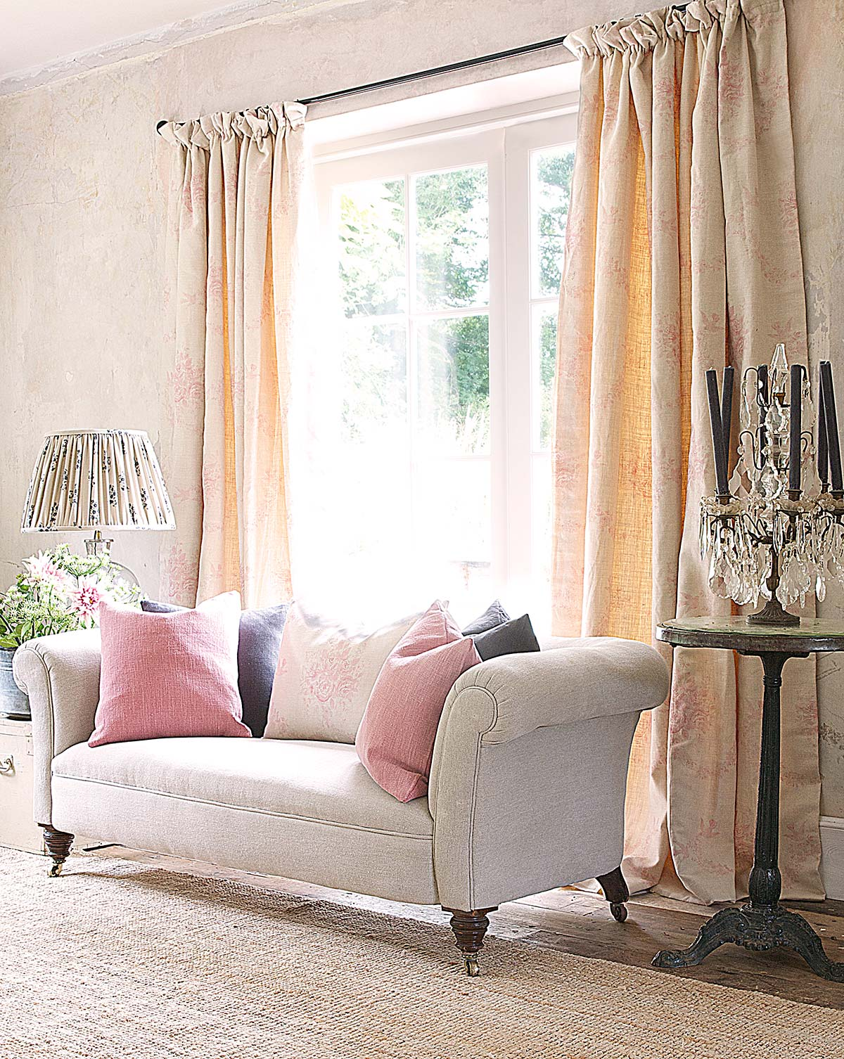 Pink-Sophia-Curtains-&-Pebble-Sofa