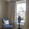 Agnes Charcoal Curtains and Charcoal Plain Chair