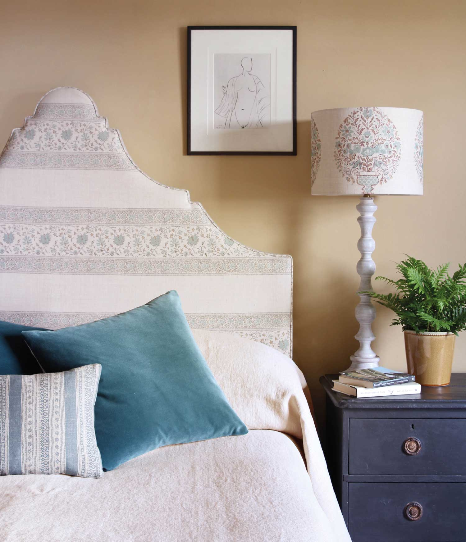 Freya-Aqua-Headboard-and-Nikita-Aqua-Shade